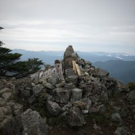 八経ヶ岳 山頂