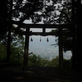 松尾山 奈良県