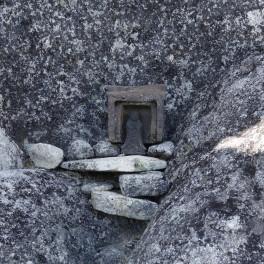 鳳凰三山 地蔵岳 オベリクスの裏側
